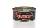 CANNED CRICKETS SMALL 35gr. Dose